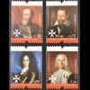 Portugal 2013 Mi. Nr. 3886-89 900 Jahre Souveräner Malteserorden 4 Großmeister