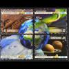Portugal 2014, Michel Nr. 3988-91, 150 Jahre Geophysikalisches Institut IGUC
