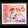 Schweiz 2016 Nr. 2437 50 Jahre Giftnotruf 145 Mutter ruft Notfallnummer Tox Info