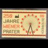 Österreich 2016 Nr. 3264 250 Jahre Wiener Prater Riesenrad Stephansdom