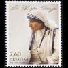 Kroatien Croatia 2016 Nr. 1250 Mutter Teresa Heilige Heiligsprechung Nothilfe