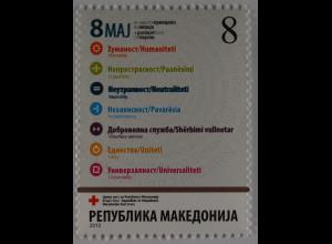 Makedonien Macedonia Michel Nr. 170 Rotes Kreuz