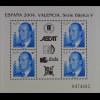 Spanien 2004, Block 140, Internat. Briefmarkenausstellung ESPAÑA '04 Valencia