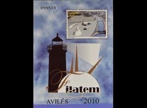 Spanien 2010, Block 194, Thematische Briefmarkenausstellung FILATEM '10, Avilés