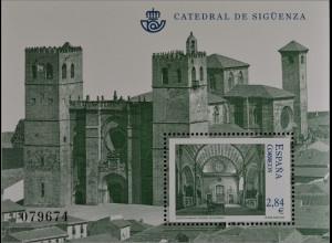 Spanien España 2011, Block 205, Kathedralen, Kathedrale Santa Maria in Sigüenza