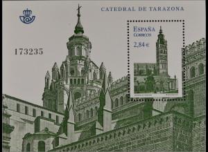 Spanien España 2011, Block 217, Kathedralen, Kathedrale v. Tarazona geweiht 1232