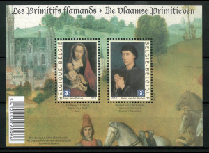 Belgien 2010 Block 155 Frühe flämische Malerei von Rogier van der Weyden