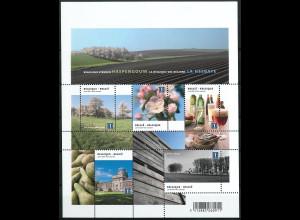 Belgien 2010 Block 154 Belgien der Regionen I Hespengau Photographie