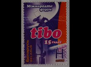 Weißrussland Belarus 2008 MiNr. 704 Messe Telekommunikation Bürotechnik TIBO