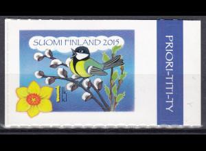 Finnland 2015 Michel-Nr. 2368 Frühlingsgezwitscher Einzelwert aus MH
