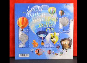 Belgien Belgium 2015 Block 196 Heissluftballone Luchtballonnen Mr. Bup