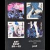 Finnland Finland 2015, Block 88, Post Art, Küssendes Paar, Block mit Lacküberzug