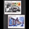 Färöer 2015, Michel Nr. 842-43 150. Jahre Buchhandlung Bücher