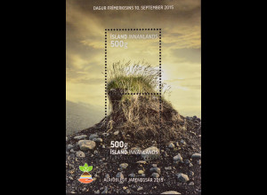 Island Iceland 2015, Block 63, Tag der Marke, Internat. Tag des Bodens