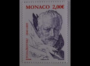 Monako Monaco 2015 Michel Nr. 3258 175. Geburtstag Tchaikovski Komponist