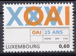 Luxemburg 2015 Mi-Nr. 2032 25 Jahre Berufsverband der Architekten Ingenieure