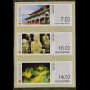 Dänemark Denmark 2015 ATM Nr. 81-83 CICE Chinesische Kulturgeschichte Soldaten