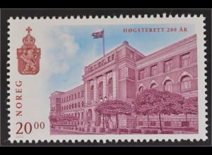 Norwegen Norway 2015 Michel Nr. 1892 200 Jahre Gerichtshof von Norwegen