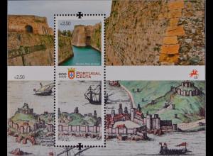 Portugal 2015 Block 386 600 Jahre Stadt Ceuta Hafenstadt Spitze Marokkos