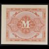 Militärbehörde, 1944, Besatzungsgeld, Wert 1/2 Mark, Ro. 200