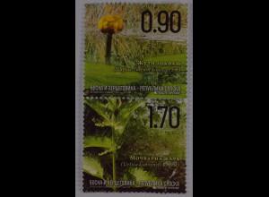 Bosnien Herzegowina Serbische Republik 2015 Michel Nr. 666-67 Naturschutz, Flora