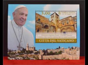 Vatikan Cittá del Vaticano 2015, Block 49, Weltpastoralreisen in Türkei, Korea