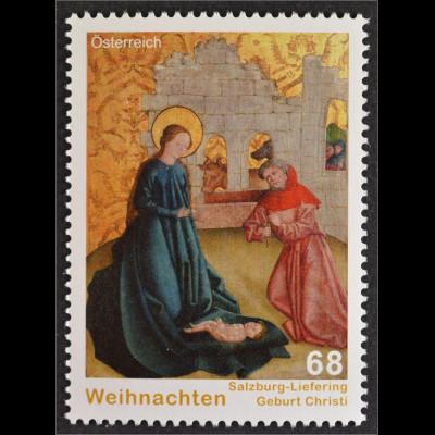 Österreich 2015 Michel Nr. 3241 Weihnachten Liefering Salzburg Maria Christkind