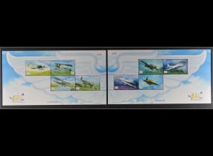 Thailand 2012, Block 277-78, Luftstreitkräfte, Nieuport 11, Breguet III, Ki-30