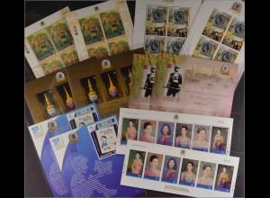 Thailand Bl. 306 I A+B, 307 I A+B, Bl. 315 III A+B, Bl. 316 I A+B, ..s. Beschr.