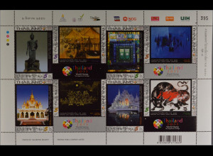 Thailand 2013, Klbg. 3316-23 A, THAILAND 2013, Bangkok: Zeitgenössische Kunst