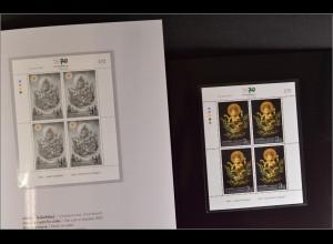 Thailand 2013, 3364-65, Viererkleinbogen Verkaufsverpackungen zug. Hochschule