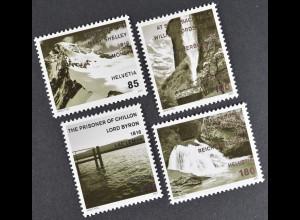 Schweiz 2007 Michel Nr. 2018-21 Schweiz aus der Sicht ausländischer Künstler