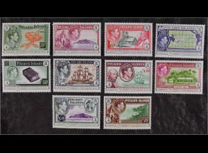 Pitcairn Pitcairn Islands 2015 Michel Nr. 943-52 75 Jahrestag erste Briefmarke