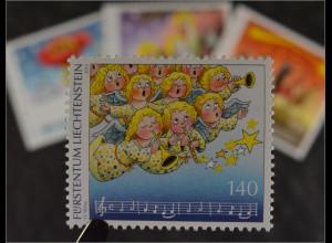 Liechtenstein 2015 MiNr. 1785-88 Weihnachten Weihnachtslieder Oh du Fröhliche