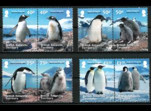 Britische Gebiete in der Antarktis BAT Nr. 632-39 Jahr 2013 Motiv Pinguine