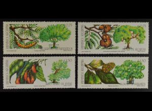 Argentinien Argentina 1993 Michel Nr. 2186-89 Bäume in Buenos Aires