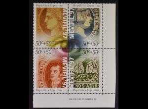 Argentinien Argentina 1997 MiNr. 2344-47 Audiovisuelle Informationsmedien