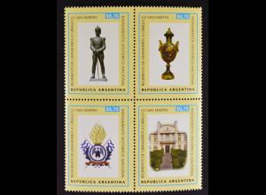 Argentinien Argentina 1998 Michel Nr. 2396-99 Grenadierregiment