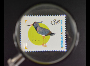 Argentinien Argentina 1998 Michel Nr. 2419 Fauna Cayenne Kiebitz