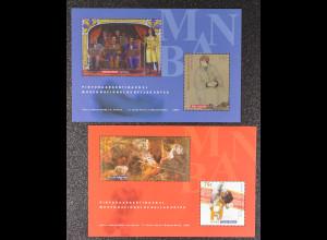 Argentinien Argentina 1999 Block 63-64 Nationalmuseum der schönen Künste