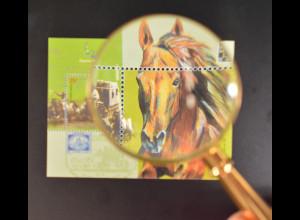 Argentinien Argentina 2000 Block 72 Int. Briefmarkenausstellung ESPANA 2000