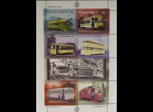 Argentinien Argentina 1997 Michel Nr. 2356-61 100 Jahre Elektrische Straßenbahn