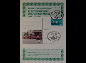 Sonderblatt der Sonderpostkarte Briefmarken Messe Essen 1994 Europa U=Rx1