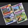 Schweiz 2008 MiNr. 2061-64 Pro Patria Kulturwege Schweiz Via Sbrinz Via Romana