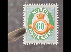 Norwegen Norway 2015 Michel Nr. 1898Posthorn Nominale 60 Kronen