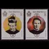 San Marino 2015 Michel Nr. 2650-51 Todestag des Heiligen Don Bosco Pfarrer
