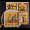 Albanien 2015 Michel Nr. 3507-10 Handwerkskunst Töpferei Vasen
