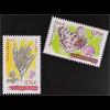 Andorra französisch 2015 Michel Nr. 794-95 Pflanzen Tiere Schmetterling Thymian