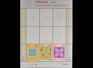 China Macau Macao 2015 Block 243 Magische Quadrate