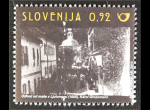 Slowenien Slovenia 2015 Michel Nr. 1176 110. Jahrestag der ersten Filmaufnahme
